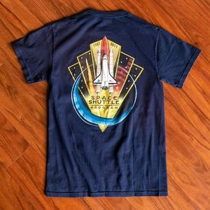 Vintage 2011 Nasa Space Shuttle Program Tee